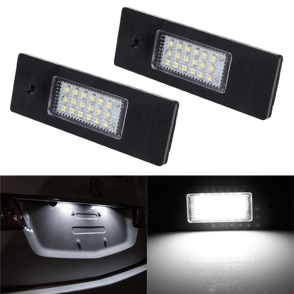 LED Kennzeichenbeleuchtung passend für Mini Cooper R55 Clubman R60 Countryman